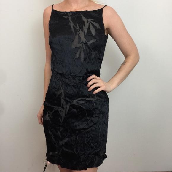 de8f61dfa9e46 Martine SITBON Dresses | Nwt Navy Burnout Mini 90s Dress | Poshmark